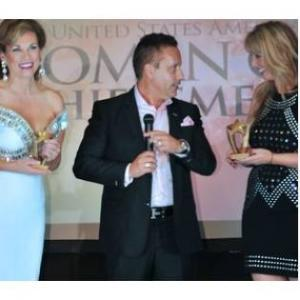 Marlena giving out awards