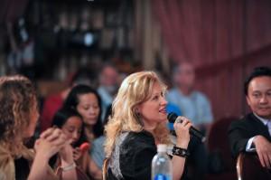 Michelle speaking